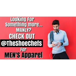 Check Out Our MEN'S CLOSET @TheShoeChefs